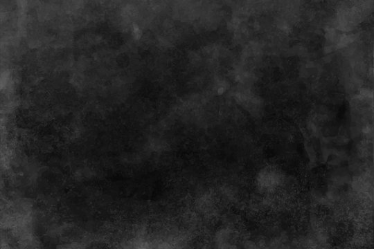 Black and dark gray watercolor texture, background