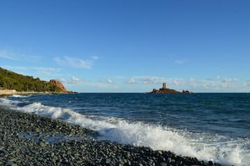 Le Dramont et l'île d'or