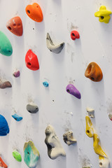 Climbing wall indoor,