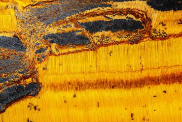 tygers eye mineral  macro detail