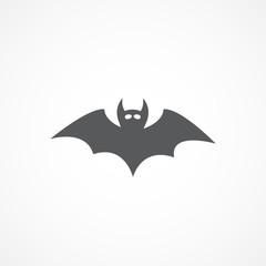 Bat vector icon