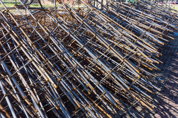 steel poles for construction