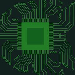 Abstract electro scheme