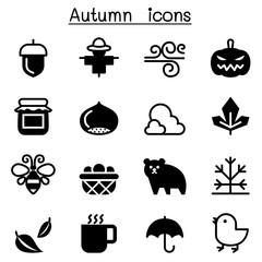 Autumn & Fall icon set