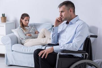 Hard relation with a disabled partner