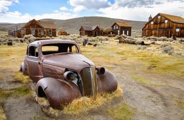 Bodie State Historic Park Wall mural