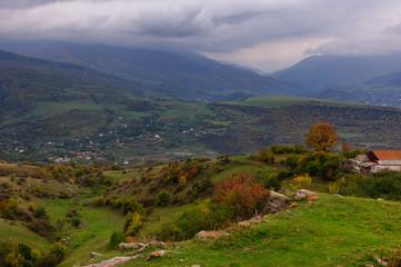 Amazing autumn landscape, Armenia