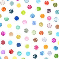 polka dots sketch