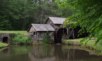 Marby Mill at Blue Ridge Parkway, Virginia (USA)