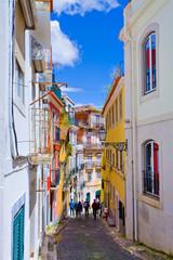Lisbonne, ruelle du bairro alto, Portugal
