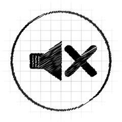 No sound icon