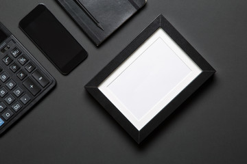 Photo frame and office supplies