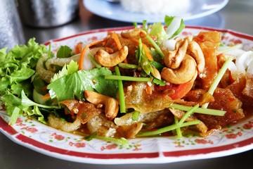 Thai food, Crispy Spicy Salad