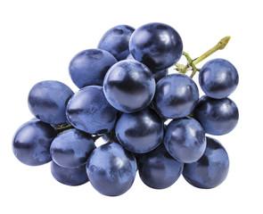 Leinwandbilder - grapes isolated on the white background