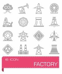 Vector Factory icon set