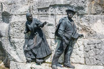 Monumento a José María de Pereda y Sánchez Porrúa Santander Kantabrien (Cantabria) Spanien