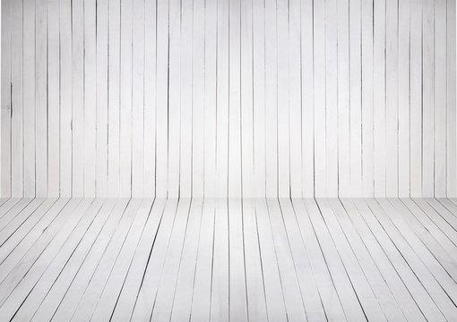 White wood background product