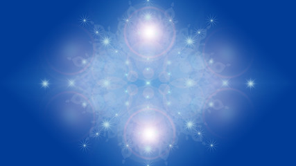 Image of Light, Star, Snow