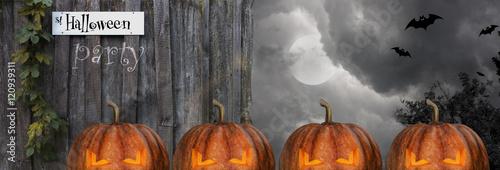 Halloween Scene illustration, background
