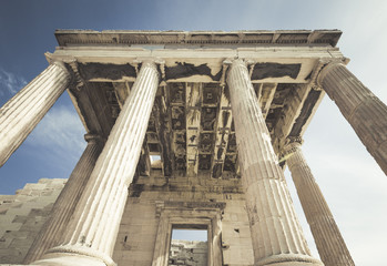 Caryatides, Erechtheion temple Acropolis, Athens, Greece