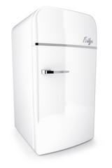 retro colored fridge 3d