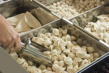 Buying frozen dumplings