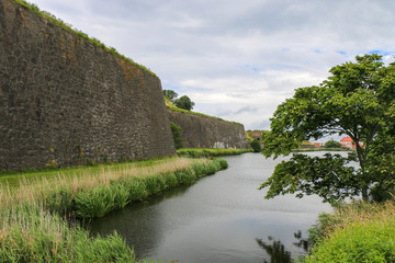 Varberg, Sweden. Castle of Varberg.