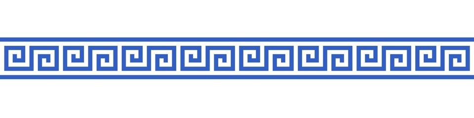Bannière méandres grecs.  Fototapete