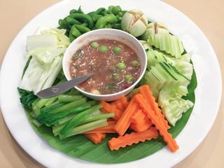 delicious spicy Thai food