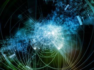 Propagating of Digital Molucule