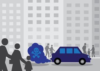 Diesel Car Fumes