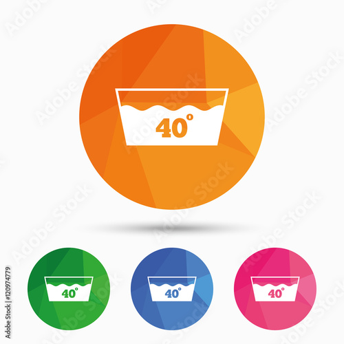 machine washable symbols