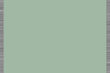 Green background with greyscale horizontal lines on left and right borders