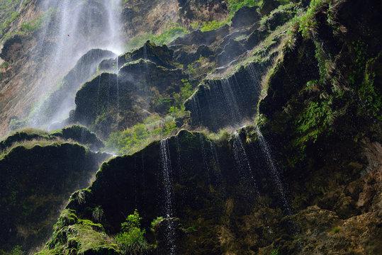 Chiapas. Cascata sul canyon del Sumidero.