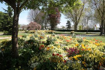foison florale à Honfleur