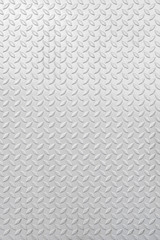 metal diamond plate in silver color for background