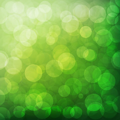 Green vector abstract background design