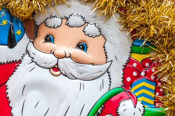 Weihnachten Weihnachtsmann Hintergund