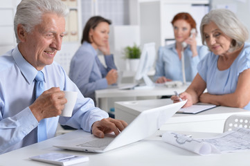 working business people In Office