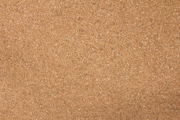 Brown cork board texture