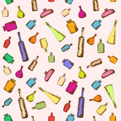 Bottles background