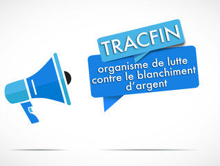 mégaphone : Tracfin