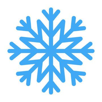 Vector illustration of snowflake for winter design.