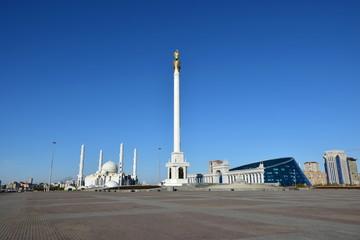 Wall Murals Nasa Independence Square in Astana, Kazakhstan