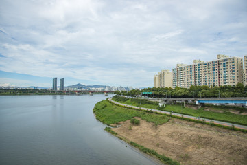 Republic of Korea Han River scenery