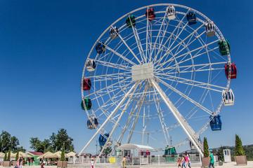 Ferris wheel, Koktobe hill, Almaty, Kazakhstan