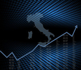The Italy economy and market background