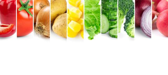 Keuken foto achterwand Verse groenten Vegetables