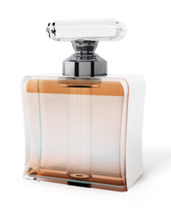 Perfume bottle. 3D illustration
