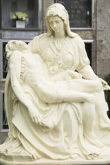 Sculpture cemetery